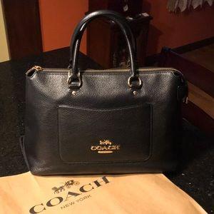 Soft Leather Coach Handbag